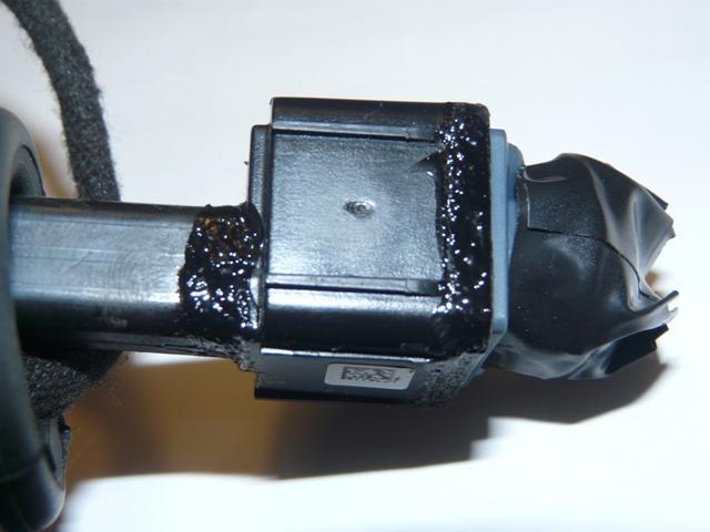 plus d'image de la camera de recul sur commande APS / caméra réparé P1090512
