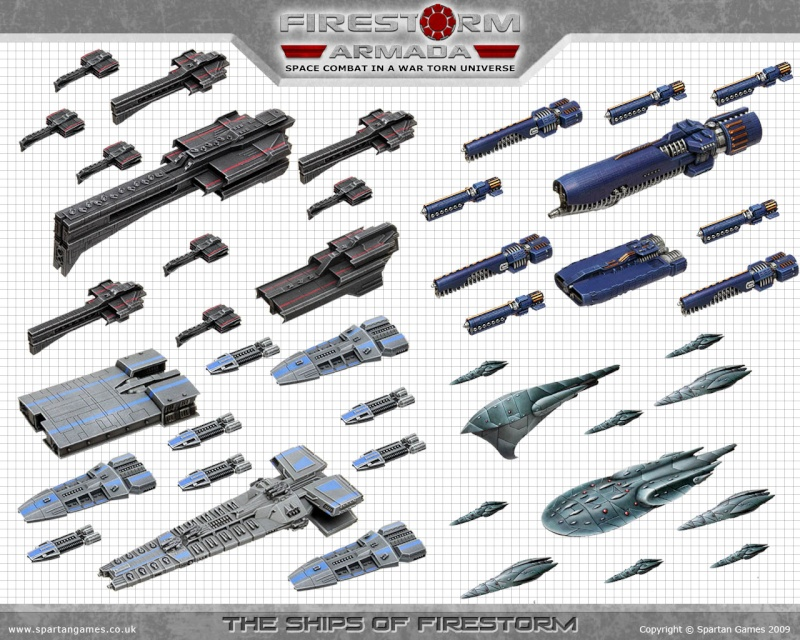 Firestorm Armada : le jeu spatial (pour remplacer battlefleet gothic) Flotte10