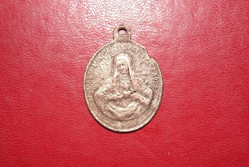 Médaille Sacré Coeur de Jésus et Marie Faceb10