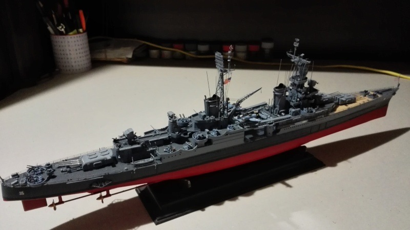 Heavy Cruiser USS Indianapolis CA-35 1/350 Académie ref. 14107  Img_2019