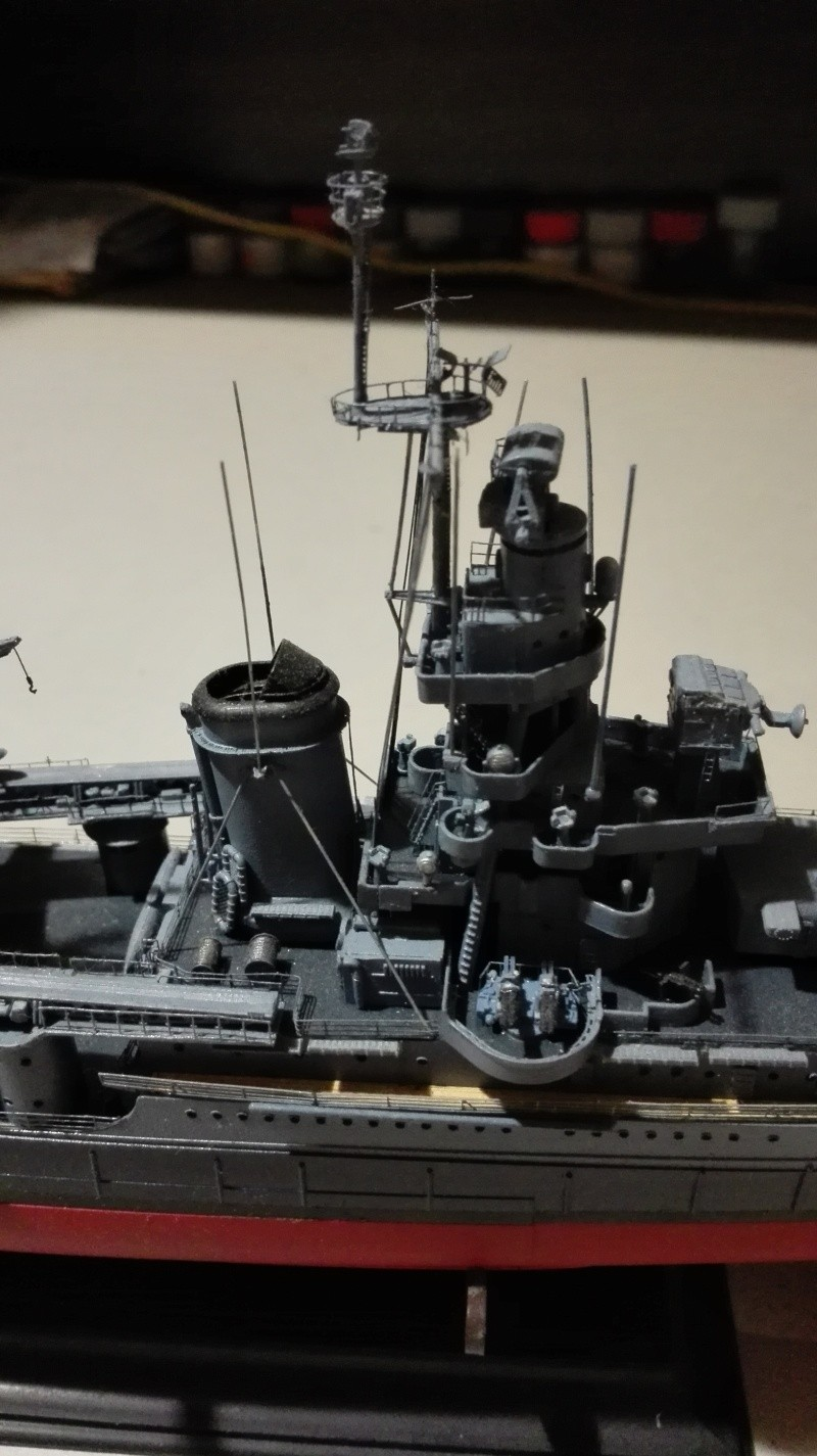 Heavy Cruiser USS Indianapolis CA-35 1/350 Académie ref. 14107  Img_2023