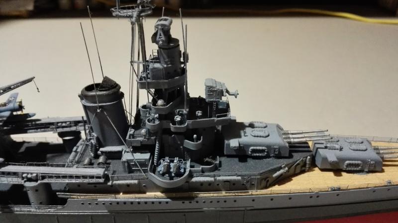 Heavy Cruiser USS Indianapolis CA-35 1/350 Académie ref. 14107  Img_2024