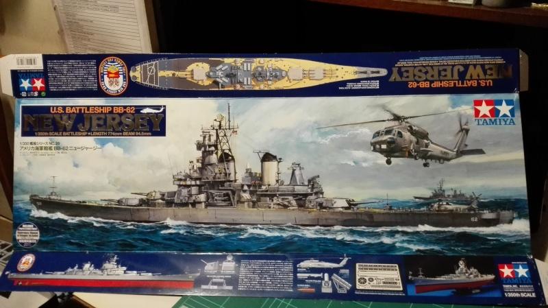 Cuirassé USS New Jersey BB-62 1/350 Tamiya Réf. 78028  Img_2088