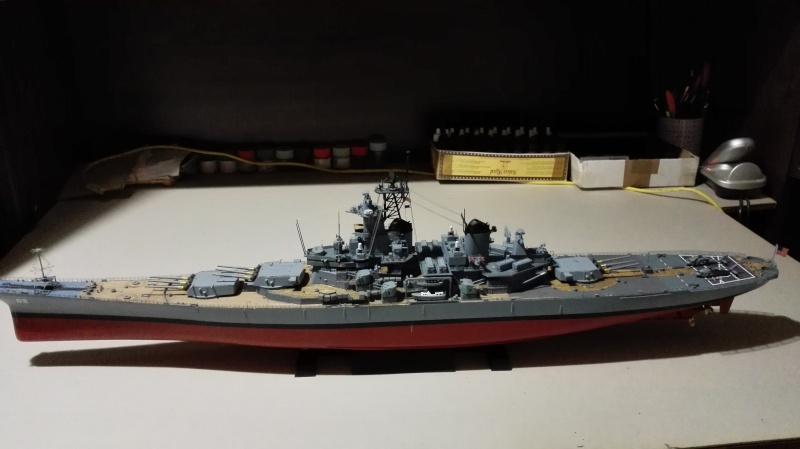 Cuirassé USS New Jersey BB-62 1/350 Tamiya Réf. 78028  Img_2089