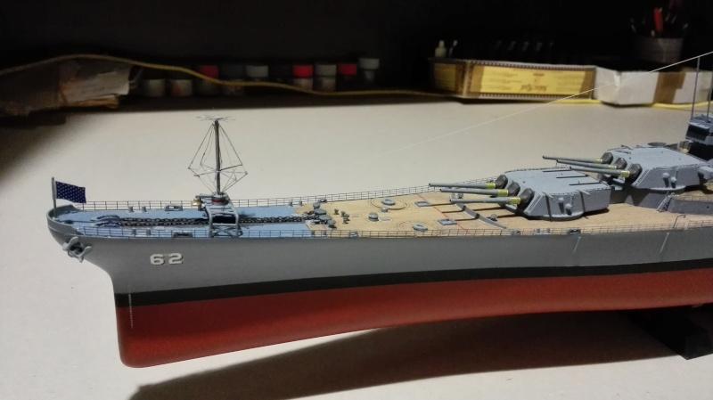 Cuirassé USS New Jersey BB-62 1/350 Tamiya Réf. 78028  Img_2090