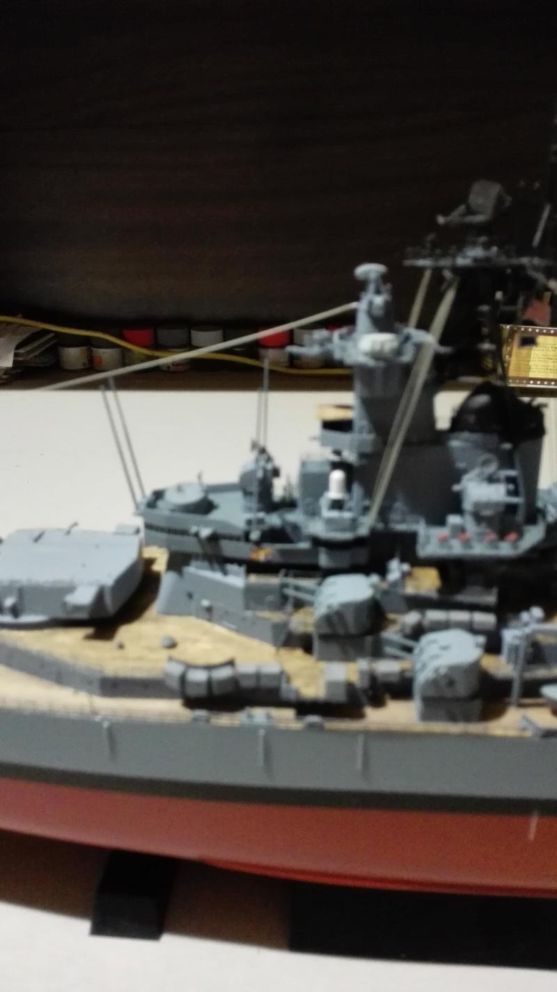 Cuirassé USS New Jersey BB-62 1/350 Tamiya Réf. 78028  Img_2092
