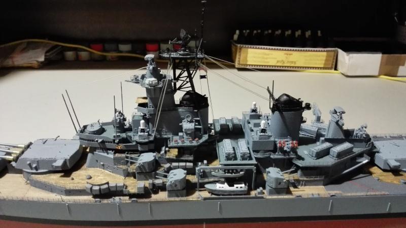 Cuirassé USS New Jersey BB-62 1/350 Tamiya Réf. 78028  Img_2093