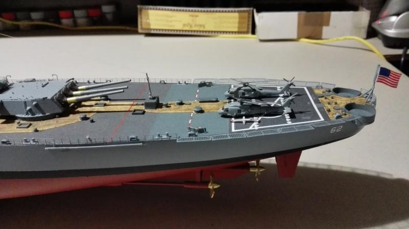 Cuirassé USS New Jersey BB-62 1/350 Tamiya Réf. 78028  Img_2096