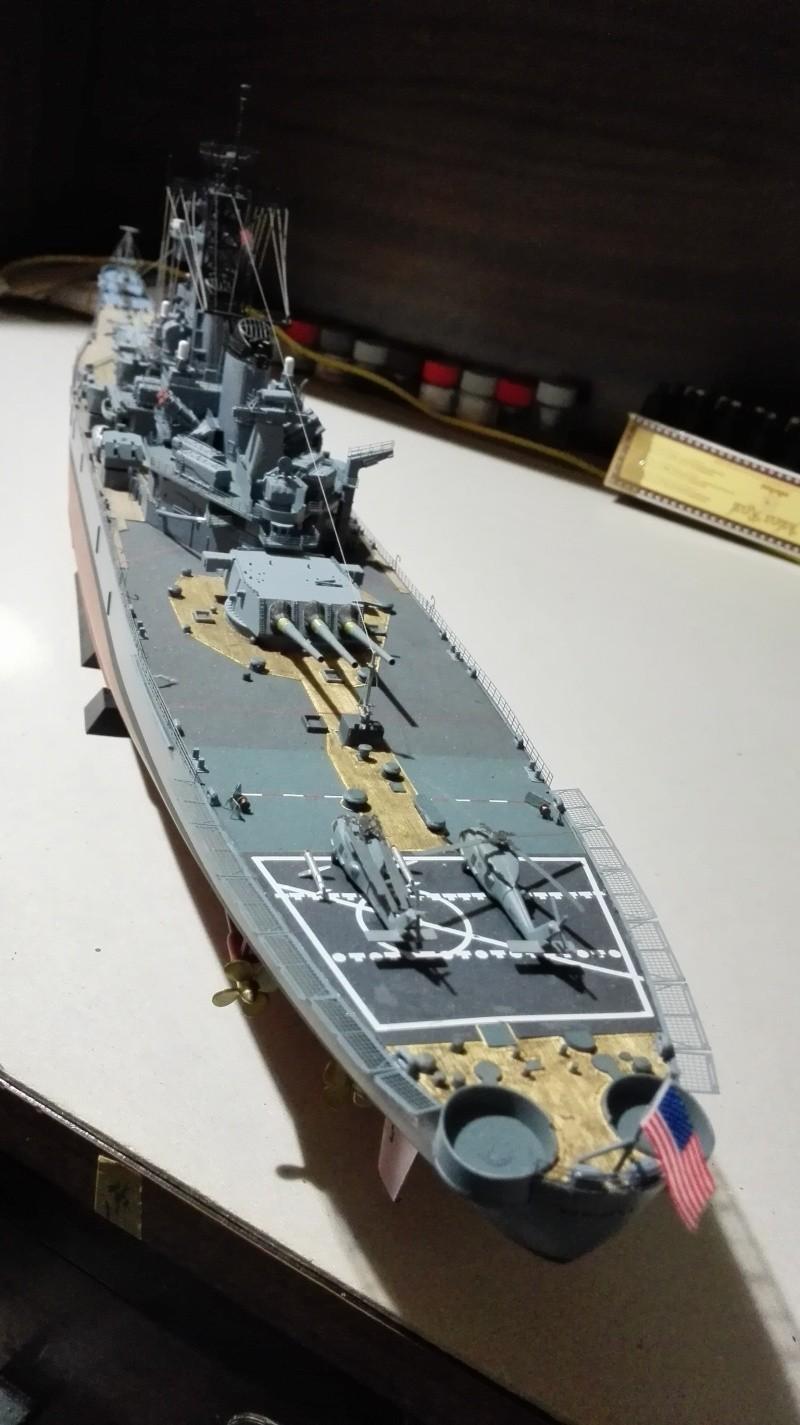 Cuirassé USS New Jersey BB-62 1/350 Tamiya Réf. 78028  Img_2097