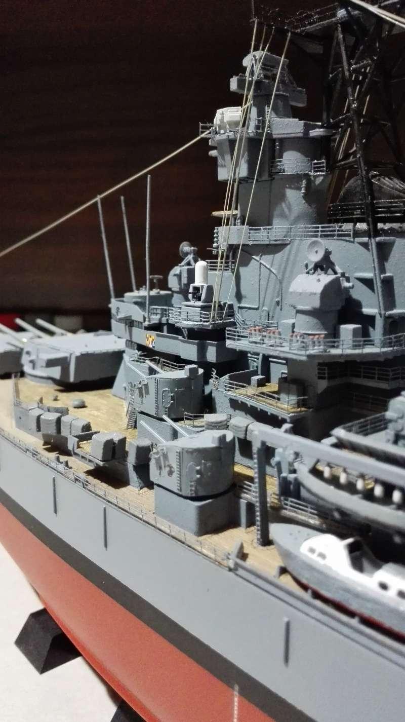 Cuirassé USS New Jersey BB-62 1/350 Tamiya Réf. 78028  Img_2099