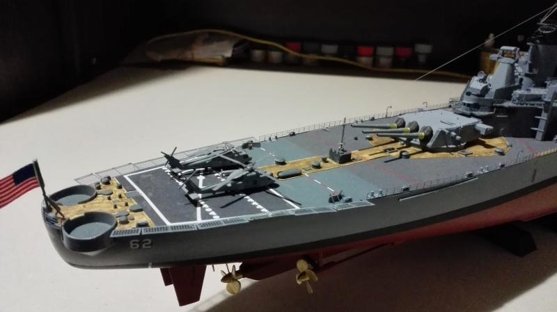 Cuirassé USS New Jersey BB-62 1/350 Tamiya Réf. 78028  Img_2101