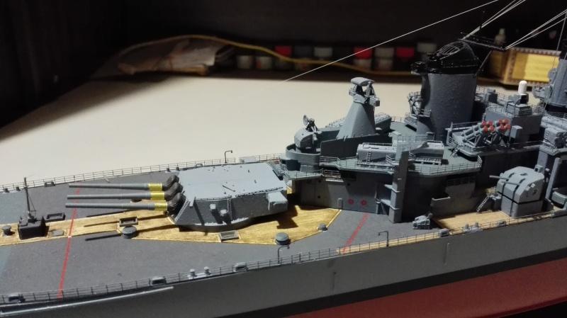 Cuirassé USS New Jersey BB-62 1/350 Tamiya Réf. 78028  Img_2102
