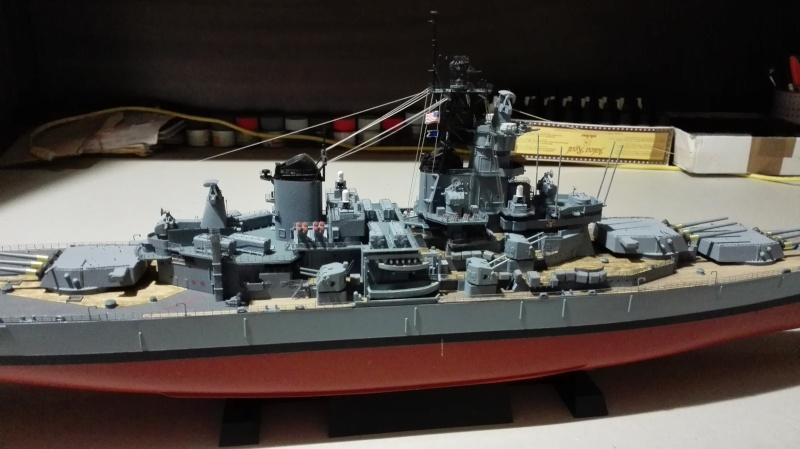 Cuirassé USS New Jersey BB-62 1/350 Tamiya Réf. 78028  Img_2103