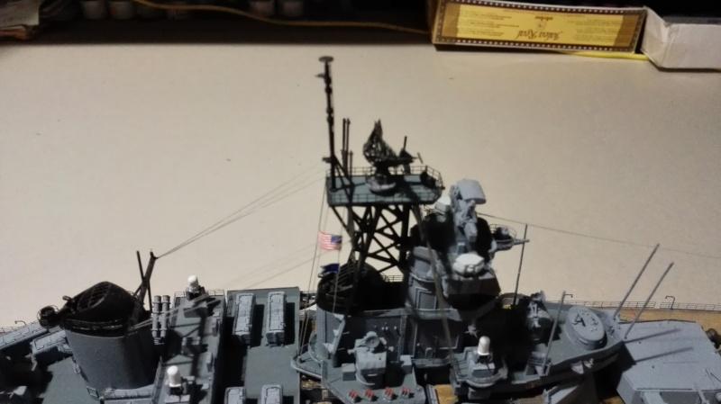 Cuirassé USS New Jersey BB-62 1/350 Tamiya Réf. 78028  Img_2105