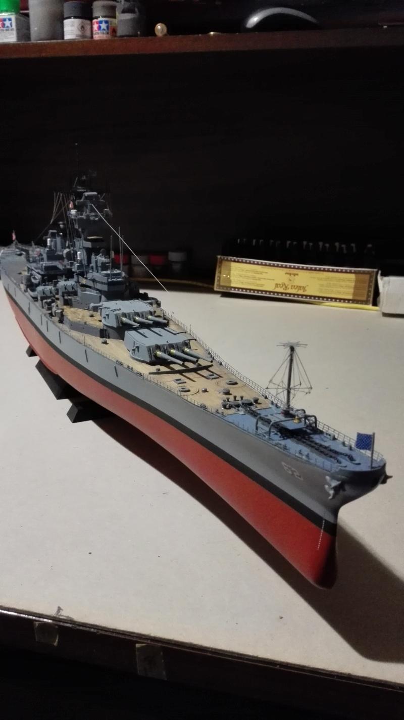Cuirassé USS New Jersey BB-62 1/350 Tamiya Réf. 78028  Img_2111