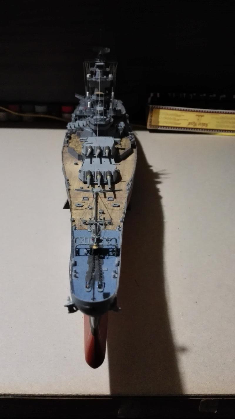 Cuirassé USS New Jersey BB-62 1/350 Tamiya Réf. 78028  Img_2114