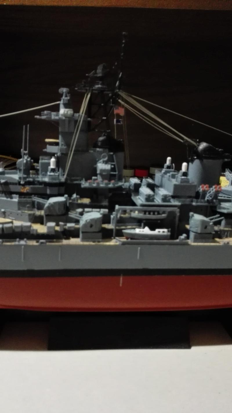 Cuirassé USS New Jersey BB-62 1/350 Tamiya Réf. 78028  Img_2116