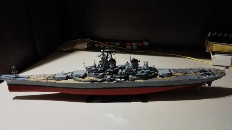Cuirassé USS New Jersey BB-62 1/350 Tamiya Réf. 78028  Img_2119
