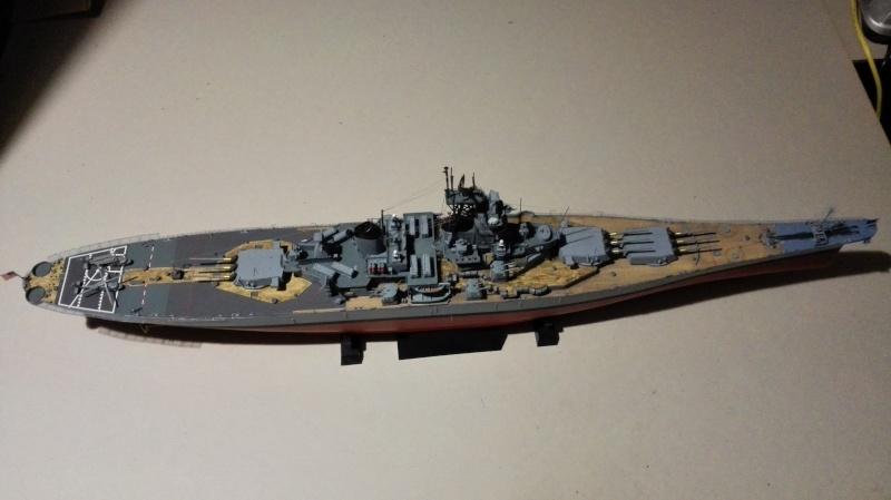 Cuirassé USS New Jersey BB-62 1/350 Tamiya Réf. 78028  Img_2120