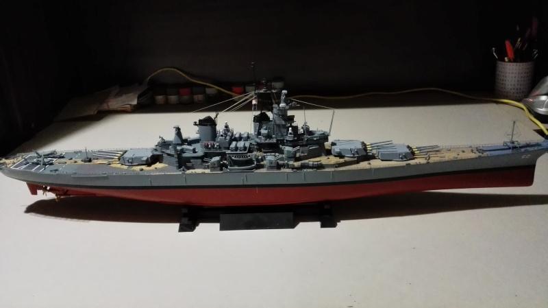 Cuirassé USS New Jersey BB-62 1/350 Tamiya Réf. 78028  Img_2121
