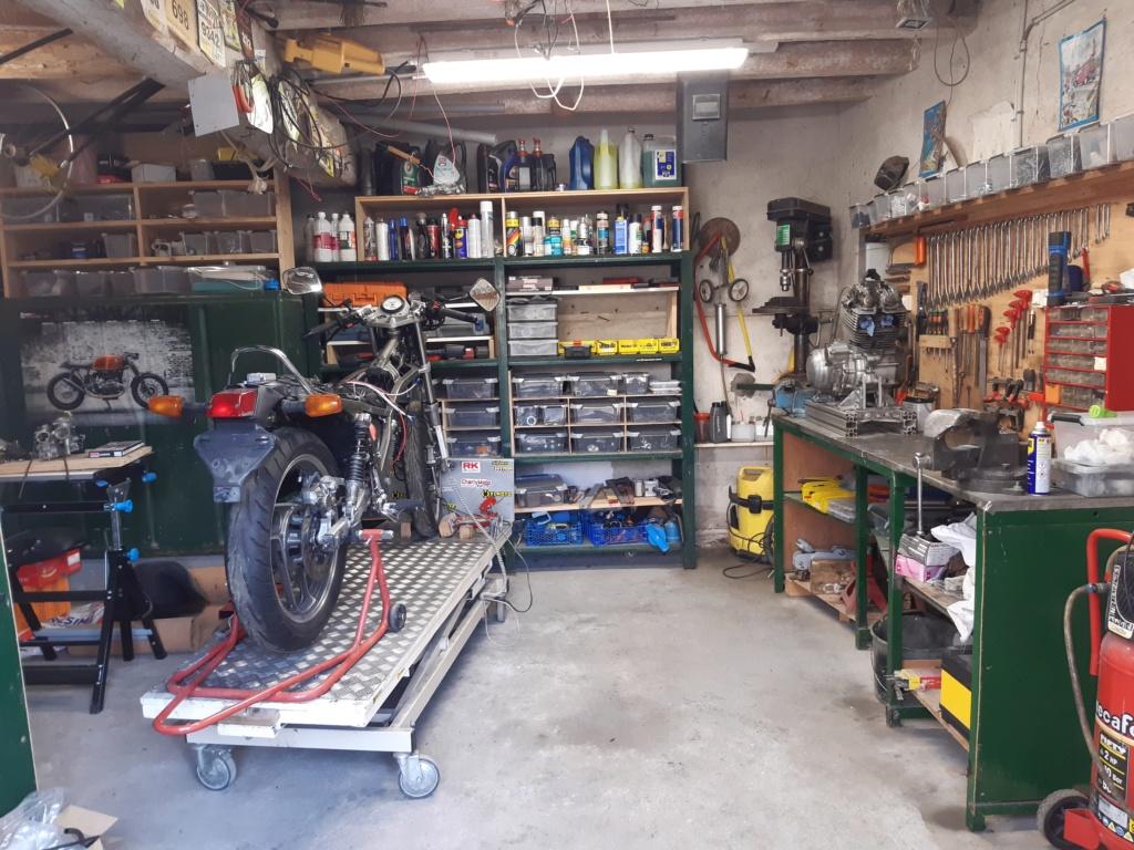 La vie du garage. 20200110