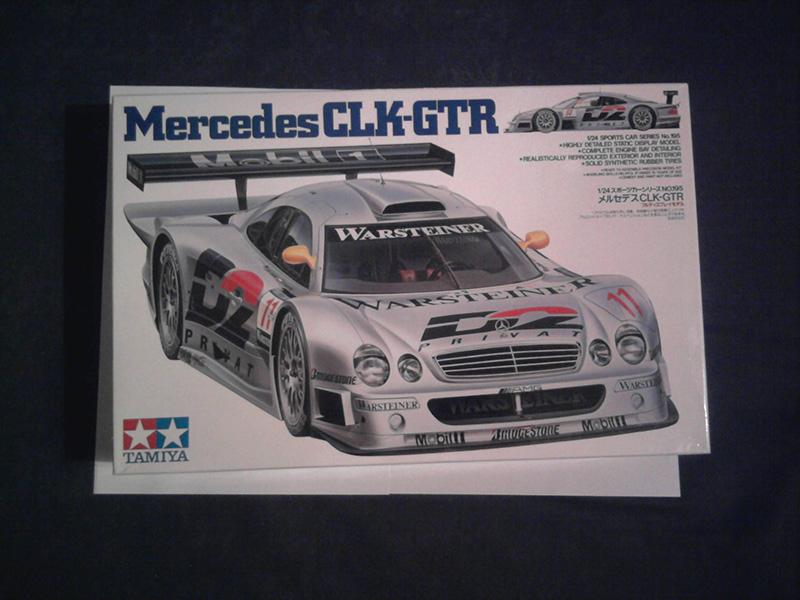 Tamiya Mercedes CLK-GTR 1:24 01_13