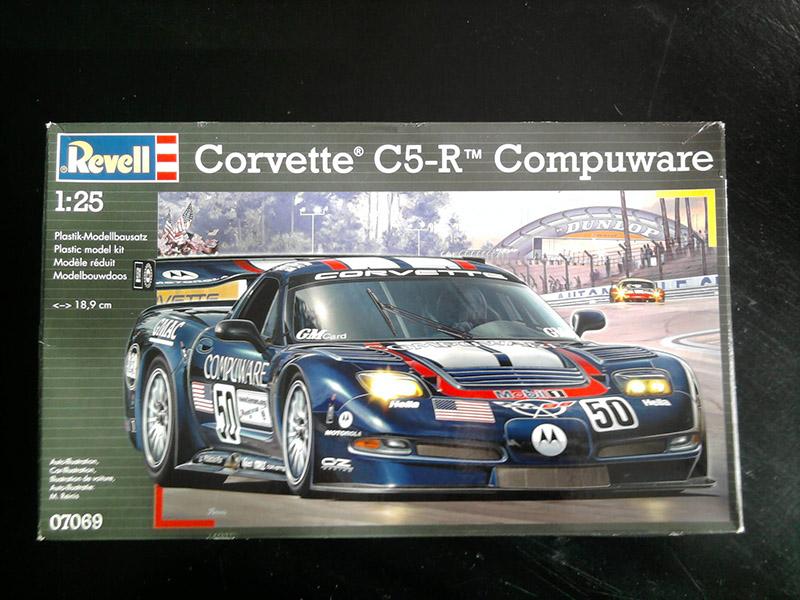 Revell Corvette C5-R Compuware 1:25 01_19