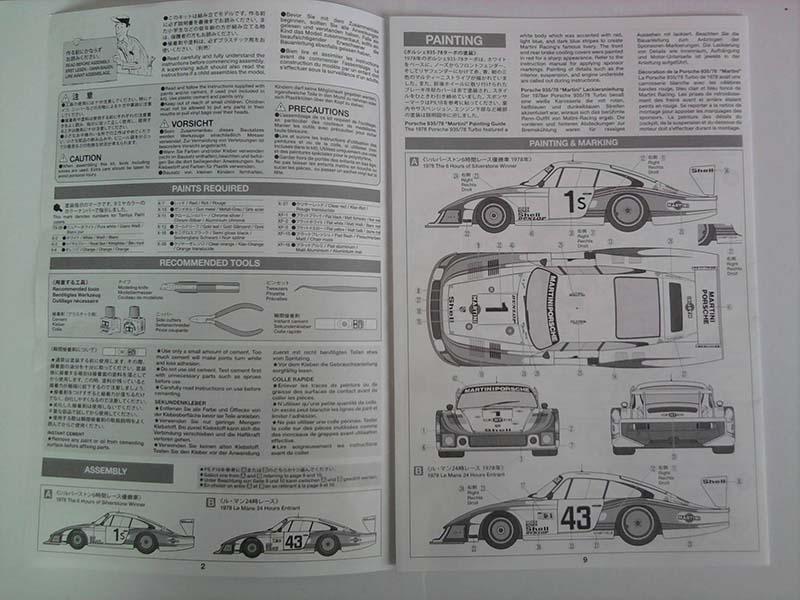 Tamiya Porsche 935/78 Moby Dick Martini 1:24 03_16