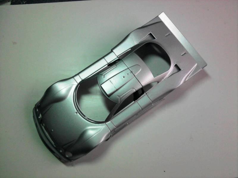Tamiya Mercedes CLK-GTR 1:24 13_11