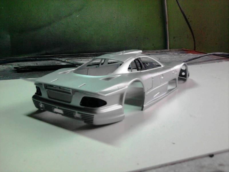 Tamiya Mercedes CLK-GTR 1:24 14_11