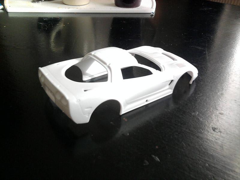 Revell Corvette C5-R Compuware 1:25 14_15