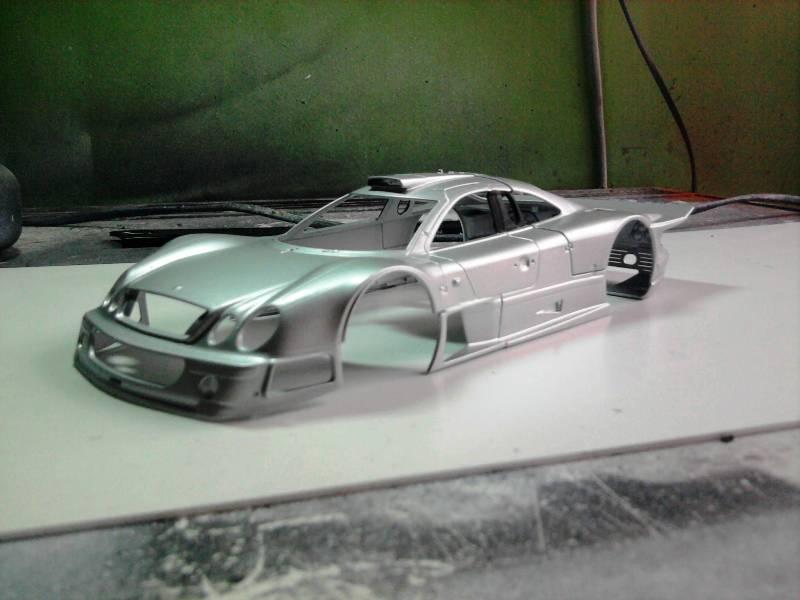 Tamiya Mercedes CLK-GTR 1:24 15_11