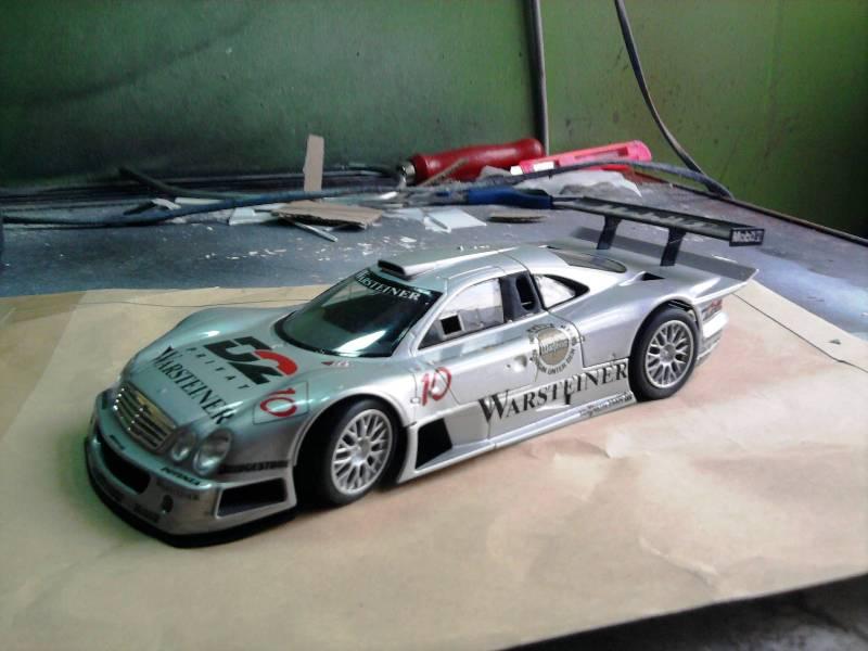 Tamiya Mercedes CLK-GTR 1:24 23_11
