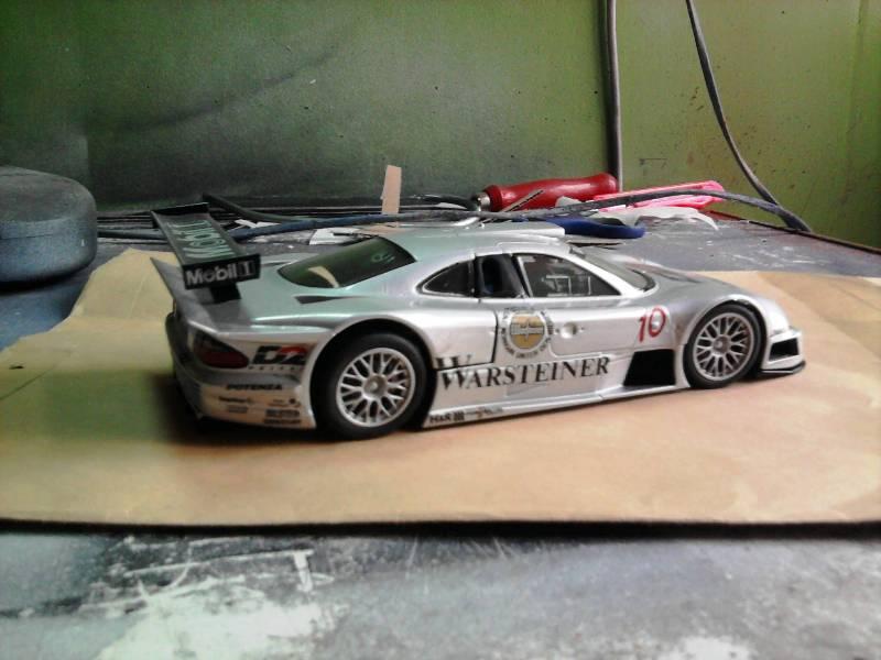 Tamiya Mercedes CLK-GTR 1:24 24_11