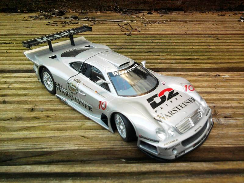 Tamiya Mercedes CLK-GTR 1:24 26_11