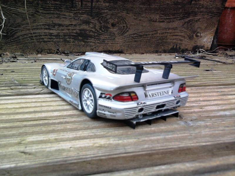 Tamiya Mercedes CLK-GTR 1:24 28_11