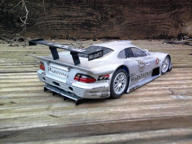 Tamiya Mercedes CLK-GTR 1:24 29_10