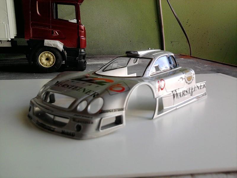 Tamiya Mercedes CLK-GTR 1:24 Foto3714