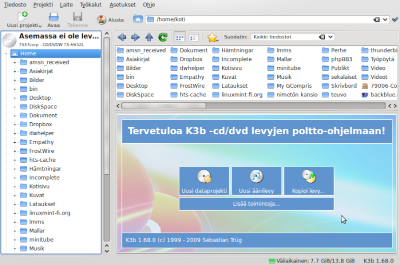 برنامج K3B Select26