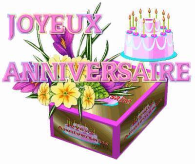 Joyeux anniversaire  a Bonbon Rose Joyeux10