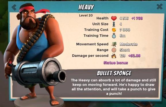 Maximum Level Troopers & Battle assist Heavy10