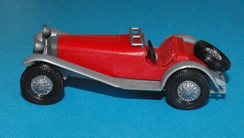 Mercedes SSK 1928 Sport Wagen Rouge_11
