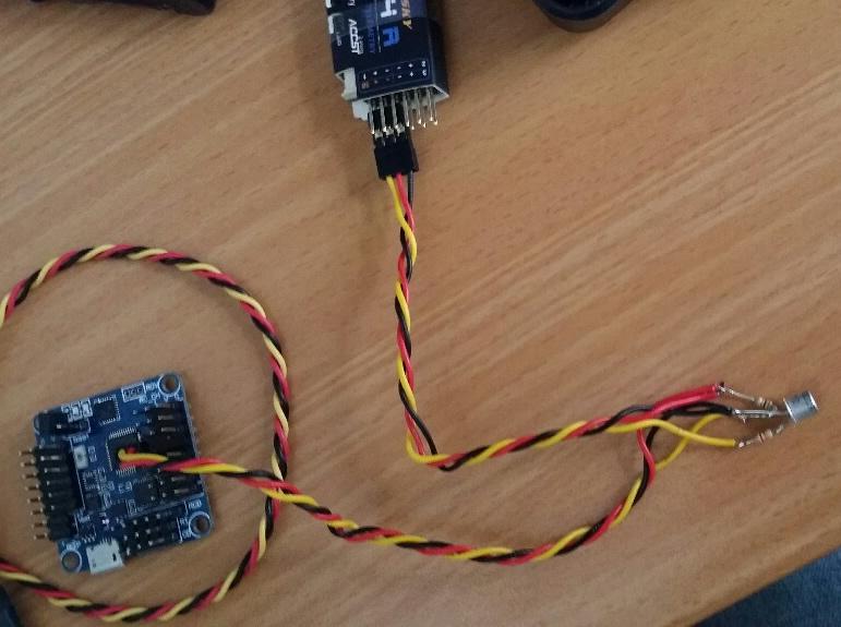 X4RSB avec naze 32 Cable10