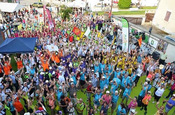 EuroNordicWalk : record du monde du plus grand rassemblement de marche nordique. Kam_8010