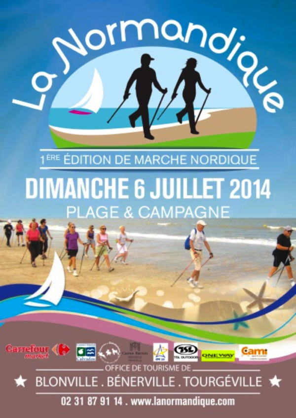 "La ""Normandique"" … marche nordique en pays normand Norman11"
