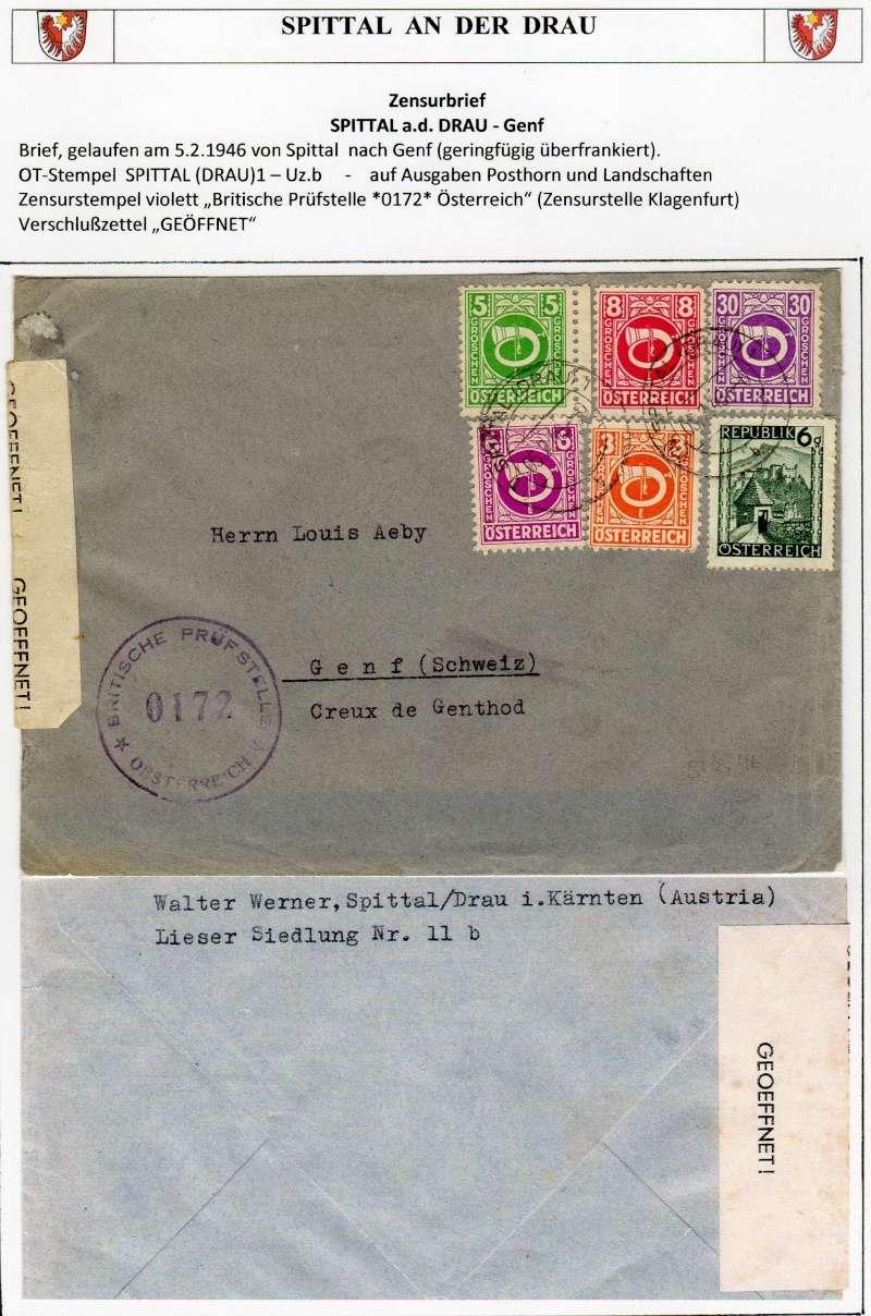 Posthornzeichnung  -  ANK 697-713  -  Belege - Seite 2 Img12610