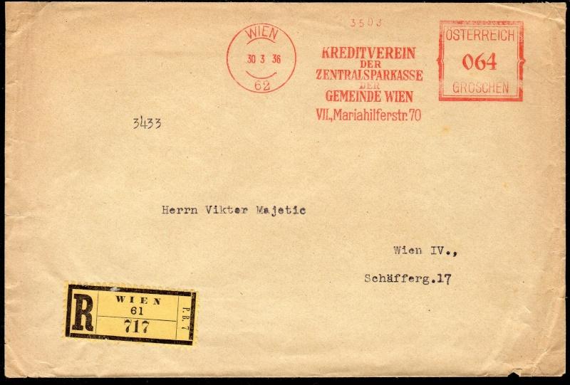 Briefe / Poststücke österreichischer Banken - Seite 3 Img14610