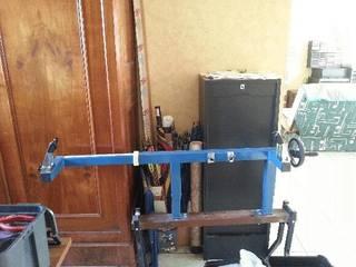 Fabrication d'une presse pour compound - Page 2 20150216