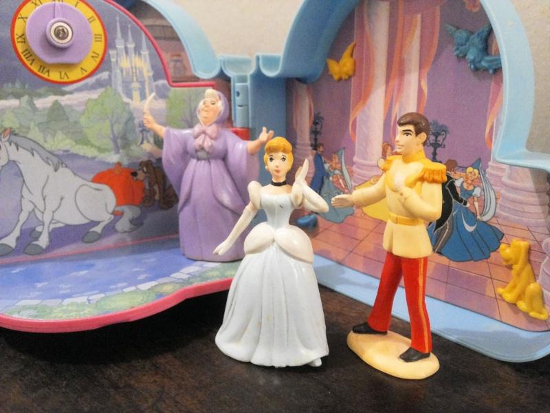 [VENDO] Cenerentola Once Upon a Time C`era una volta Playset Mattel 1992 molto raro Vintage  20150111