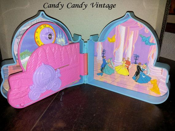 [VENDO] Cenerentola Once Upon a Time C`era una volta Playset Mattel 1992 molto raro Vintage Il_57014